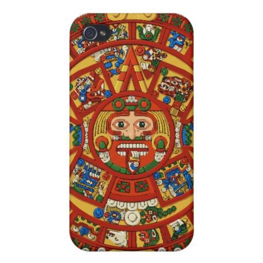 El símbolo maya antiguo de Prophesy iPhone 4 Funda