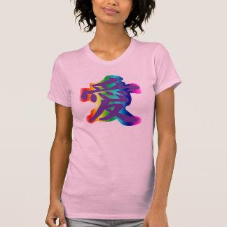 El símbolo para el amor camisetas