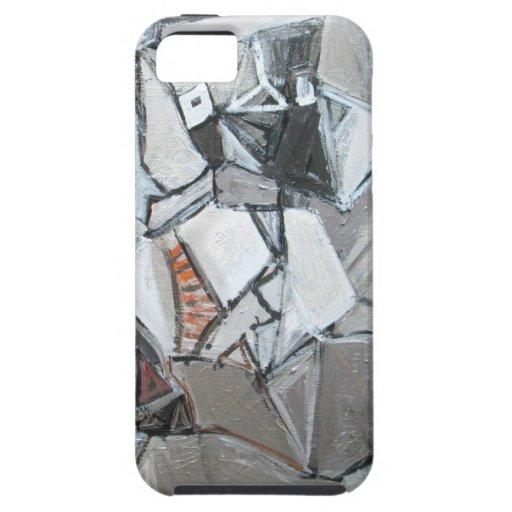 El simposio metálico de Platón (cubismo abstracto) iPhone 5 Carcasas