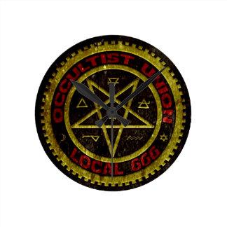 EL SINDICATO LOCAL 666 DEL OCCULTIST    019 RELOJ DE PARED