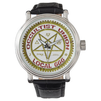 El sindicato local 666 del Occultist Relojes