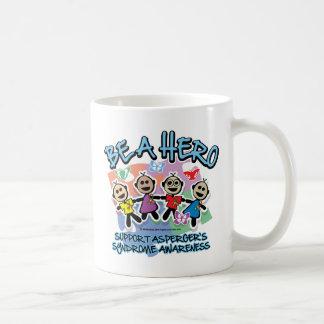 El síndrome de Asperger sea un héroe Taza De Café