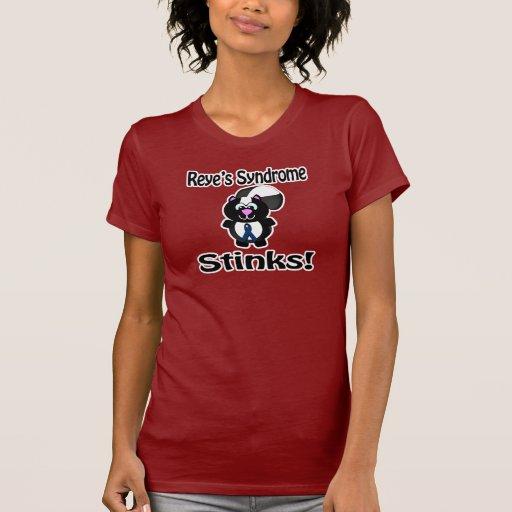 El síndrome de Reyes apesta diseño de la concienci Camisetas