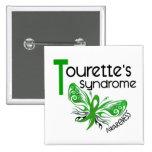 El síndrome de Tourette de la mariposa 3,1 Pin