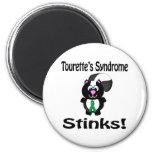 El síndrome de Tourettes apesta diseño de la conci Imán De Frigorífico