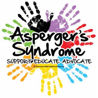 El síndrome Handprint de Asperger Fotoescultura Vertical