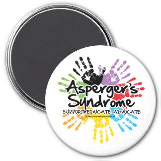 El síndrome Handprint de Asperger Imán Redondo 7 Cm