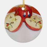 El sino de Apple jugoso Ornamente De Reyes