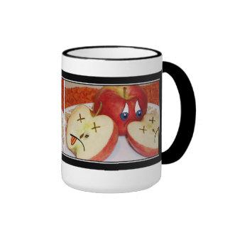El sino de Apple jugoso Tazas De Café