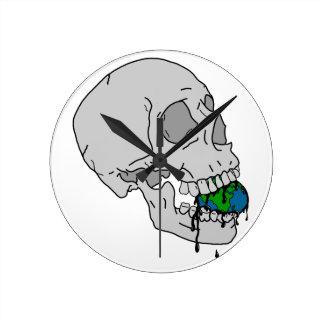 El sino del vampiro reloj redondo mediano