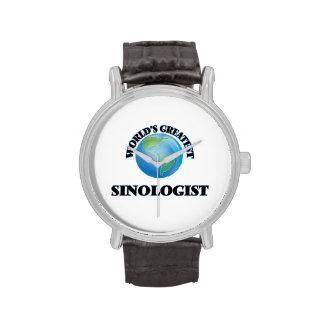 El Sinologist más grande del mundo Reloj De Mano