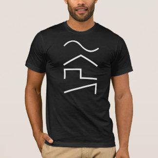 El sintetizador Moog análogo agita la camiseta