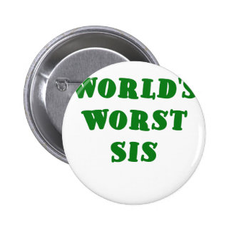 El SIS peor de los mundos Pin