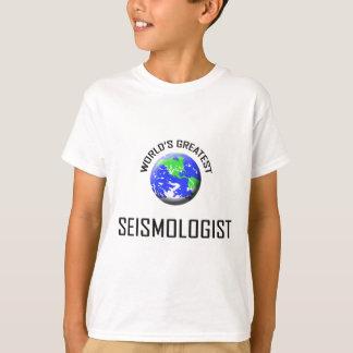 El sismólogo más grande del mundo playeras