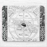 El sistema de Ptolomeo Alfombrilla De Raton