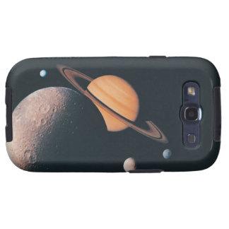 El sistema de Saturnian Samsung Galaxy S3 Coberturas