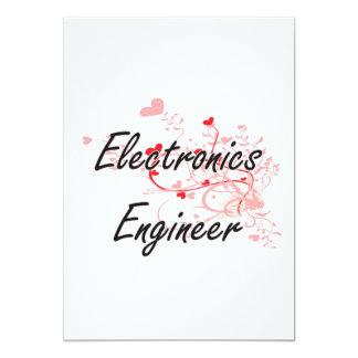 """El sistema de trabajo artístico del ingeniero invitación 5"""" x 7"""""""
