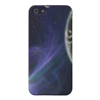 El sistema del planeta del pulsar iPhone 5 carcasa