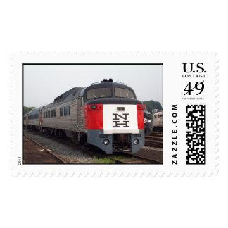 El sistema del tren de Rogelio Williams Estampillas