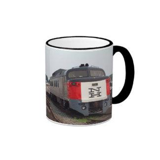 El sistema del tren de Rogelio Williams Tazas De Café