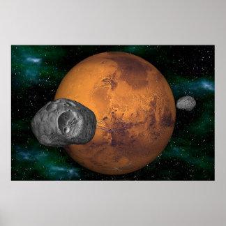 El sistema marciano póster
