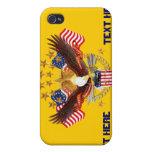El sistema no olvidado del partido de América cons iPhone 4 Cárcasas