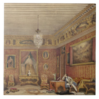 El sitio de Byron en Palazzo Mocenigo, Venecia (w/ Azulejo Cuadrado Grande