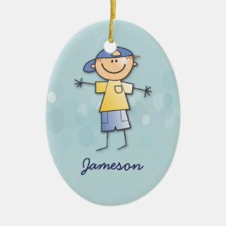 El sitio de Jameson Adorno Navideño Ovalado De Cerámica