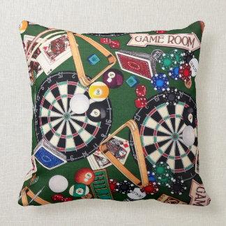 El sitio de juego lanza la almohada de tiro de las cojín decorativo