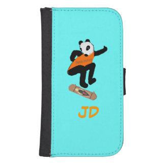 El skater añade la caja de la cartera del iphone fundas billetera de galaxy s4
