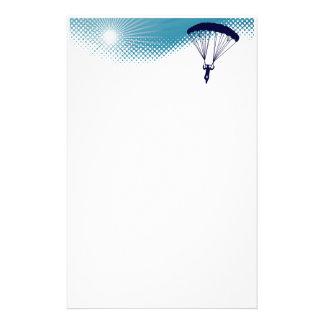 el skydiving altísimo papelería personalizada