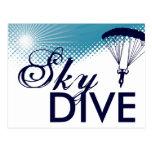 el skydiving altísimo postal
