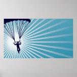 el skydiving altísimo póster