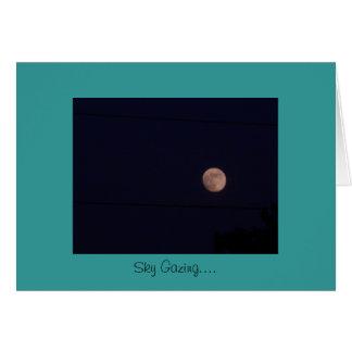 el skygazing tarjeta de felicitación