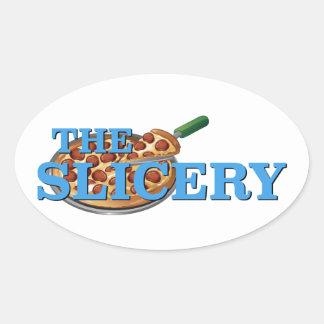 El Slicery - el Sabrina, la bruja adolescente Pegatina Ovalada
