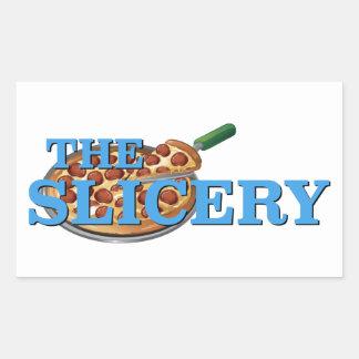 El Slicery - el Sabrina, la bruja adolescente Pegatina Rectangular
