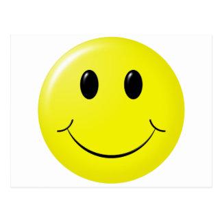 el smiley adorable es lindo tarjetas postales