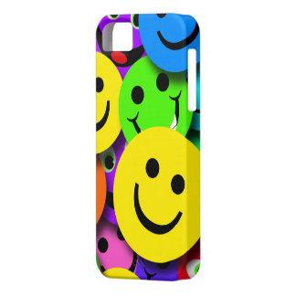 El smiley hace frente al collage iPhone 5 Case-Mate carcasas