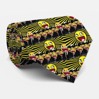 El smiley impresionante hace frente al Emoticon Corbatas Personalizadas