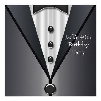 El smoking negro sirve a la 40 a fiesta de cumplea comunicado personal
