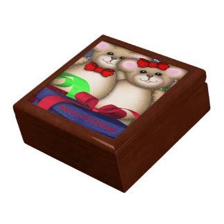 El Smooch lleva navidad Cajas De Recuerdo