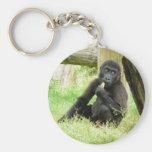 El Snacking del gorila del bebé Llavero