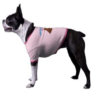 El SNORT Smooshed hace frente a la camiseta del pe Camiseta De Perrito