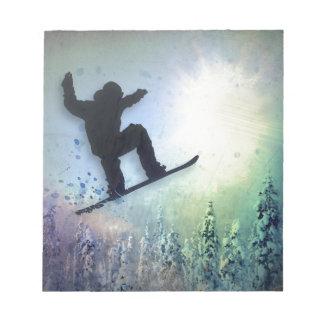 El Snowboarder: Aire Bloc De Papel