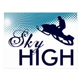 el snowmobiling altísimo postales
