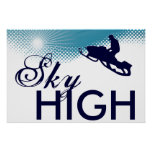 el snowmobiling altísimo posters
