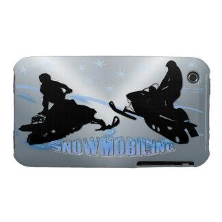 El Snowmobiling - caja de la casamata de Snowmobil Case-Mate iPhone 3 Carcasa