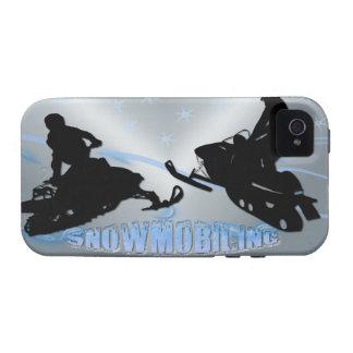 El Snowmobiling - caja de la casamata de Snowmobil iPhone 4/4S Fundas