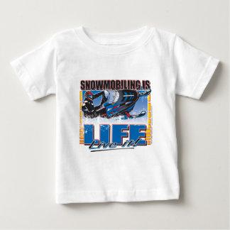El Snowmobiling es vida viva él Camisas