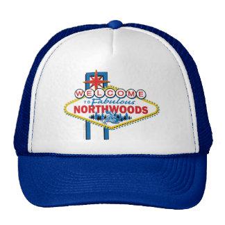 El Snowmobiling/recepción al Northwoods Gorros